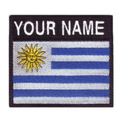 Uruguay Badge Custom Flag Name Embroidered Sew On Patch