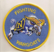 U.S. Military Embroidered Patch - NAVAL ACADEMY - FIGHTING WARGOAT