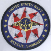 U.S. Military Embroidered Patch - United States Navy Search and Rescue Patch