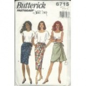 Butterick Pattern #6715 SIZE