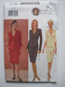 Butterick Pattern 6706 Diahann Carroll Misses'/Misses' Petite Top & Skirt Sizes 18-20-22