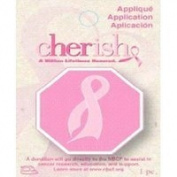 Cherish Stop Ribbon Small Iron-On Applique