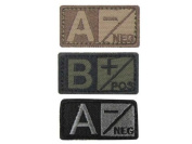 Condor Outdoor 229 Blood Type Patch - O Positive