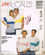 Easy McCall's Casual Tops #4073