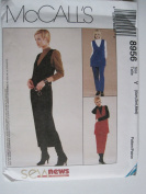 McCall's Pattern 8956 Sew News Misses' Jumper, Tunic, Pull-On Pants, Skirt, Top Sizes XS-M
