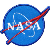 Mi59 - NASA SPACE Programme Embroidered IRON On Patch Size 3x3.5 Inches,7.5x9 Cm
