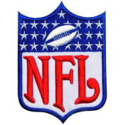 NFL01 - NFL Logo Football Sport Club Jersey Iron Patch size 3x3.5 Inches,7.5x9 Cm