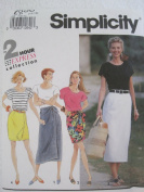 Simplicity Pattern 7856 Misses' Wrap Skirts and Top Sizes 12-16
