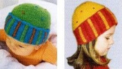 Striped Cloche Felted Hat Pattern