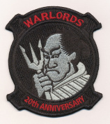 U.S. Military Embroidered Patch - HSL 51 WARLORDS - 20TH ANNIVERSARY