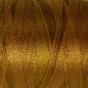 Valdani Multi-Colour Thread ~ Brown ~ Gold ~ Earth Tone Variegated Quilting Thread 50wt (40wt U.S.) 100% Cotton~ 545yd ~ Tarnished Gold ~ P5