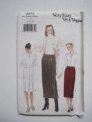 Vogue Pattern 9572 Misses' Skirt Sizes 14-16-18