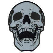 Hot Leathers Reflective Live Free Skull Patch