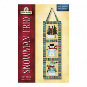 Jeri Kelly Patterns, Snowman Trio Wallhanging