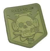 Operator Skull(TM) Rubber Hook and loop Patch by Hazard 4
