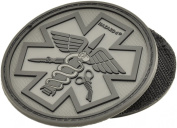 Battle(TM) Paramedic Rubber Velcro Patch by Hazard 4