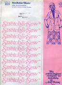 Stretch & Sew Pattern 1035 ~ One Button Blazer ~ Bust 30-42