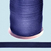 Bias Tape ~ 1.3cm Wide Double-fold Bias Tape ~ NAVY ~ Poly Cotton