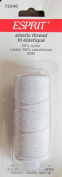 Elastic Thread, 21.8 Yards - White