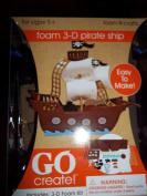 Go Create! Foam 3-D Pirate Ship Kit