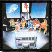 Grateful Dead - Mars Hotel Lobby - Iron on or Sew on Embroidered Patch