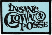 Insane Clown Posse - Running Logo - Iron on or Sew on Embroidered Patch