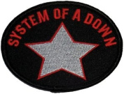 Rockabilia System Of A Down Embroidered Patch