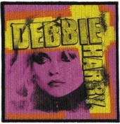 Blondie - Debbie Harry - Pink Close Up - Iron on or Sew on Embroidered Patch