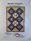 Horsin' Around Lap, Twin, Queen & King Quilting Pattern