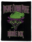 Insane Clown Posse - Riddle Box - Iron on or Sew on Embroidered Patch