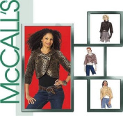 McCall's 5244 Sewing Pattern Misses Stylish Cropped Jackets makes sizes 12-14-16-18-20