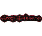 Ozzy Osbourne Name Logo Embroidered Patch