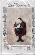 St. Nick 25cm HANGING SNOWMAN SEWING PATTERN