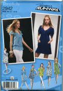 Project Runway Simplicity Pattern 2942 SIze BB