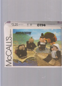 McCall's Hugachum Thanksgiving Pilgrim Indian Turkey ; Sewing Pattern 8114