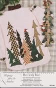 The Family Trees Shirt Applique Pattern KS-184