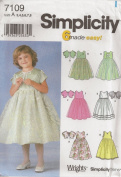 Simplicity 7109, Girl's Dress, Size A(3-8), OOP