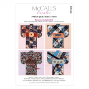McCall's Creates W10611 Paper Quilt Creations Craft Pattern, Kimono Sampler Set Greeting Card