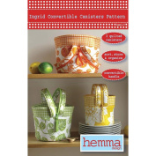Hemma Design Patterns-Ingrid Convertible Canisters