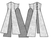 1864 Sash Belt Pattern