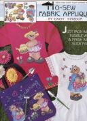 Daisy Kingdom No-Sew Fabric Applique ~ How Does Your Garden Grow.