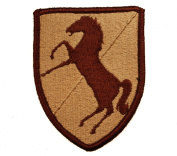 11th Armoured Cavalry US Army Blackhorse Regiment Desert Shoulder Patch D9