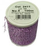 Maderia Sewing Machine Thread Purple White