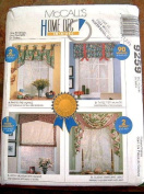 MCCALLS #9259 HOME DEC IN-A-SEC - FAST & EASY PROJECTS - 6 VARIATIONS.