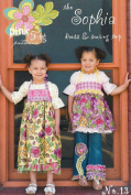 The Sopia Dress and Swing Top Sewing Pattern, Sizes 12 months to 10 years