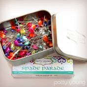 "Spade Parade Designer Pins 2.25"" - .7mm - 100ct by Young Designs"