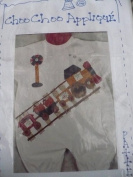 Choo Choo Iron-On Applique Pattern