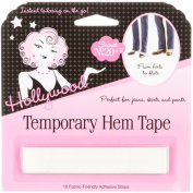 Temporary Hem Tape 18 strips by Hollywood Fashion Secrets