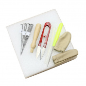 Estone Needle Felting Starter Kit Wool Felt Tools Mat + Scissors + Needle Craft Kit