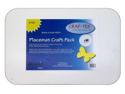 Bosal Craf-Tex Plus 33cm x 46cm . Placemat 4 pc.